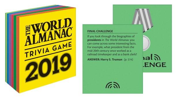 The World Almanac 2019 Trivia Game de Sarah Janssen