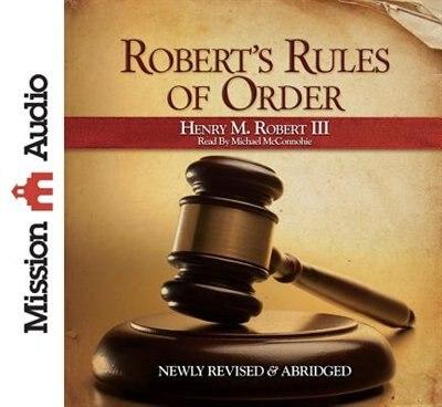 Robert's Rules Of Order: Abridged de Henry M. Robert