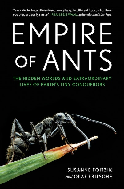 Empire Of Ants: The Hidden Worlds And Extraordinary Lives Of Earth's Tiny Conquerors by Susanne Foitzik