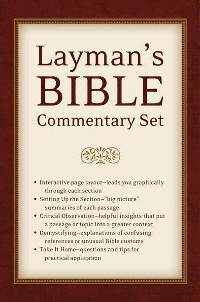 Laymans Bible Commentary Set by Tremper Longman