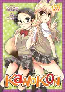 Kanokon Omnibus 7-9 by Kastumi Nishino