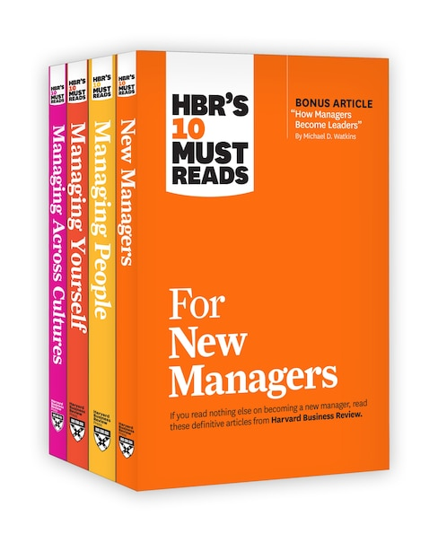Hbr's 10 Must Reads For New Managers Collection by Harvard Business Review
