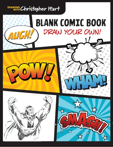 Blank Comic Book: Draw Your Own! de Christopher Hart