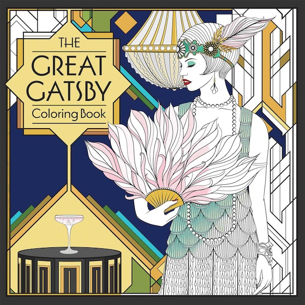 The Great Gatsby Coloring Book by F. Scott Fitzgerald