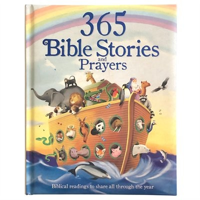 365 Bible Stories And Prayers: Biblical Readings To Share All Through The Year by Cottage Door Press