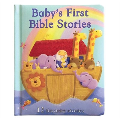 Baby's First Bible Stories: 12 Favorite Stories by Rachel Elliot