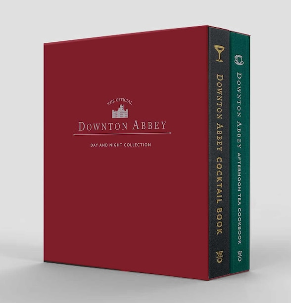 The Official Downton Abbey Night And Day Book Collection (cocktails & Tea): | The Official Downton Abbey Afternoon Tea Cookbook | The Official Downton Abbey Cocktail Cookbook by Weldon Owen