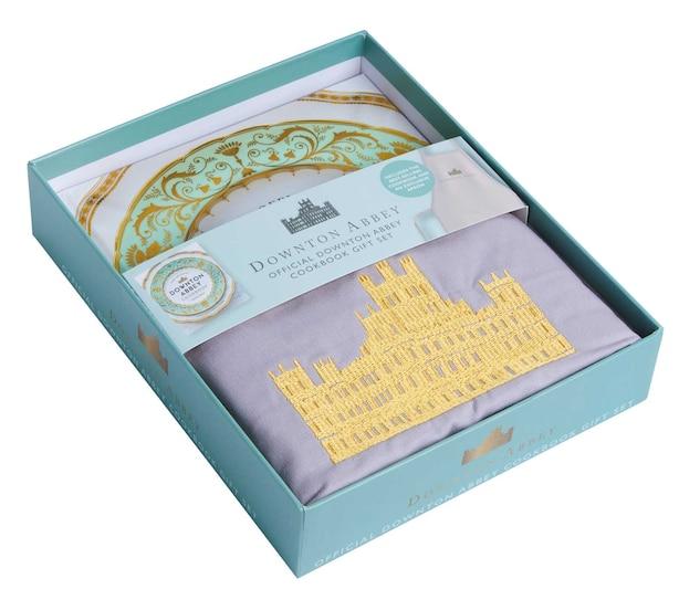 The Official Downton Abbey Cookbook - Gift Set [book+ Apron] de Annie Gray