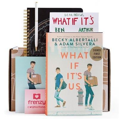 Indigo Book Box: What If It's Us by Becky Albertalli