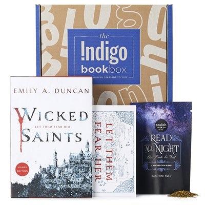 INDIGO BOOK BOX WICKED SAINTS de Emily A. Duncan