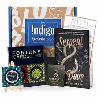 Indigo Book Box: Serpent & Dove by Shelby Mahurin