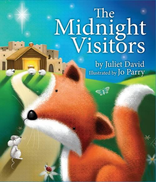 The MIDNIGHT VISITORS by Juliet David, Juliet