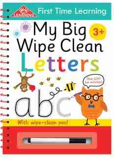 My Big Wipe Clean Letters: Wipe-clean Workbook de IglooBooks