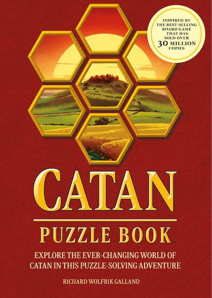 Catan Puzzle Book: Explore The Ever-changing World Of Catan In This Puzzle Adventure-a Perfect Gift For Fans Of The Ca by Richard Galland