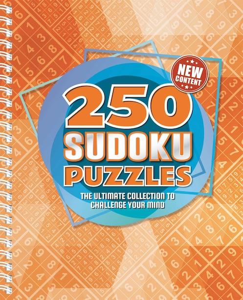250 Sudoku Puzzles: 250 Easy To Hard Sudoku Puzzles For Adults de IglooBooks