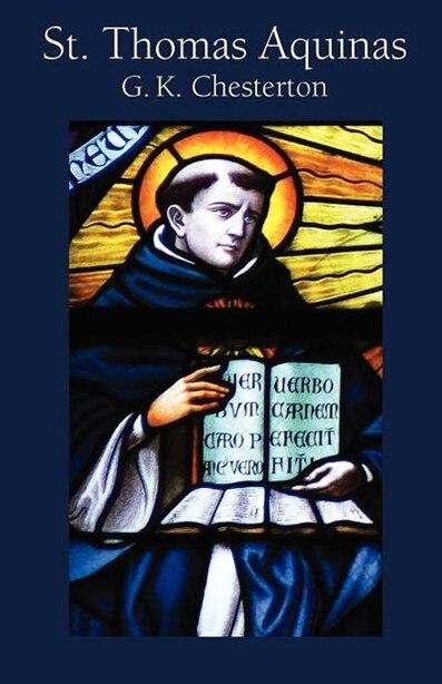 St. Thomas Aquinas de G. K. Chesterton