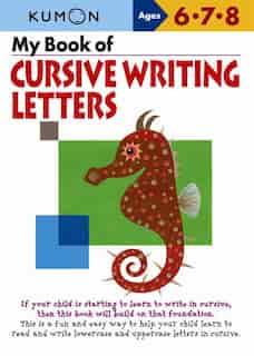 My Book of Cursive Writing Letters by Kumon
