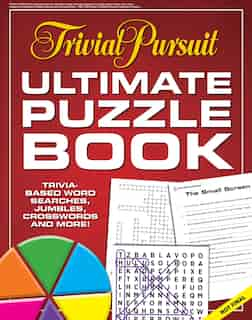 Trivial Pursuit Ultimate Puzzle Book: Trivia-based Word Searches, Jumbles, Crosswords And More! de Editors Of Media Lab Books