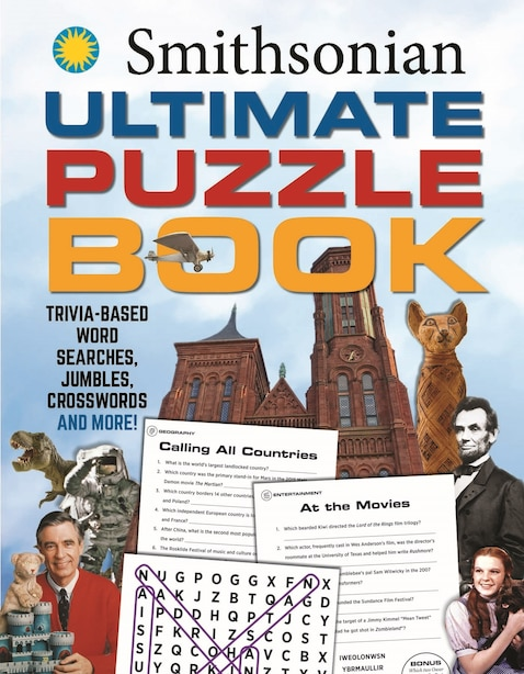 Smithsonian Ultimate Puzzle Book: Trivia-based Word Searches, Jumbles, Crosswords And More! de Editors Of Media Lab Books