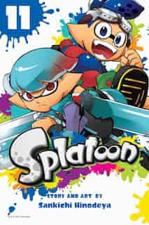 Splatoon, Vol. 11 by Sankichi Hinodeya