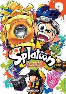Splatoon t09 by Sankichi Hinodeya