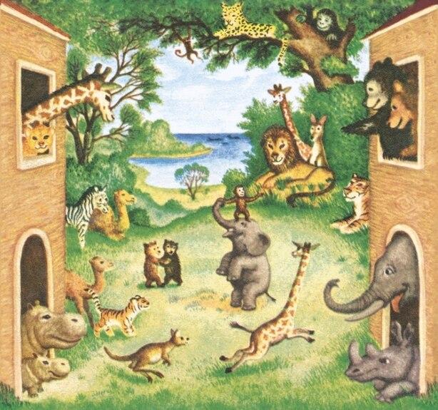 Petite bibliothèque des animaux (La) by Dorothy Kunhardt