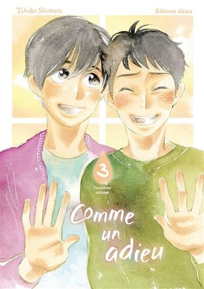 Comme un adieu Tome 3 by Takako Shimura