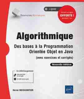Algorithmique - Des Bases À La Programmation Orientée Objet En J by Hervé Boisgontier
