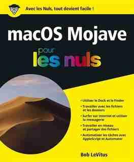 MAC OS X POUR LES NULS de Bob LeVitus