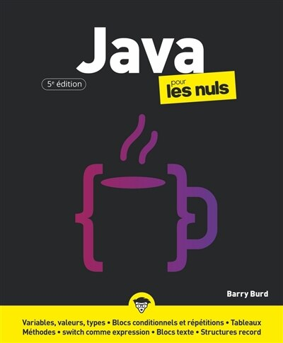 Java pour les nuls by Barry Burd