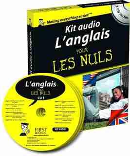 Kit audio l'anglais pour les nuls de Gail Brenner