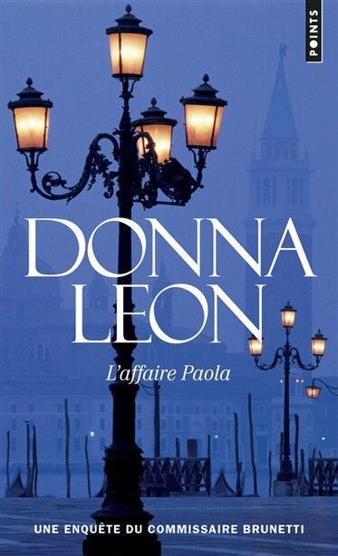 Affaire Paola: Ned de Donna Leon