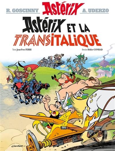 Asterix 37 Astérix et la Transitalique de Jean-yves Ferri