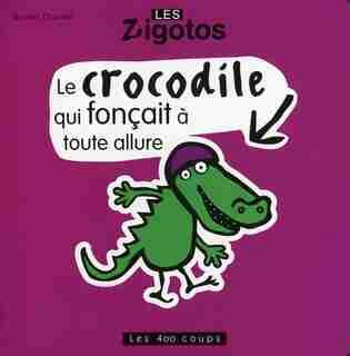 Crocodile Qui Fonçait À Toute Allure de Benoît Charlat