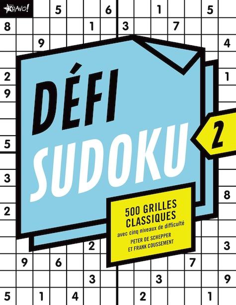 DEFI SUDOKU 2 by Peter De Schepper