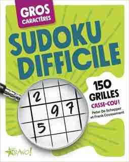 Sudoku difficile gros caractères by Peter De Schepper