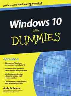 Windows 10 Para Dummies de Andy Rathbone