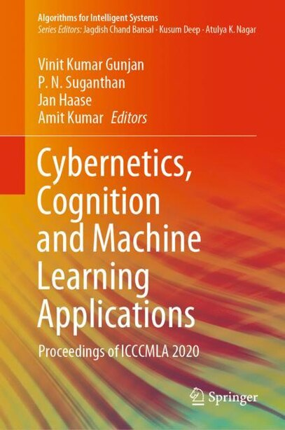 Cybernetics, Cognition And Machine Learning Applications: Proceedings Of Icccmla 2020 de Vinit Kumar Gunjan