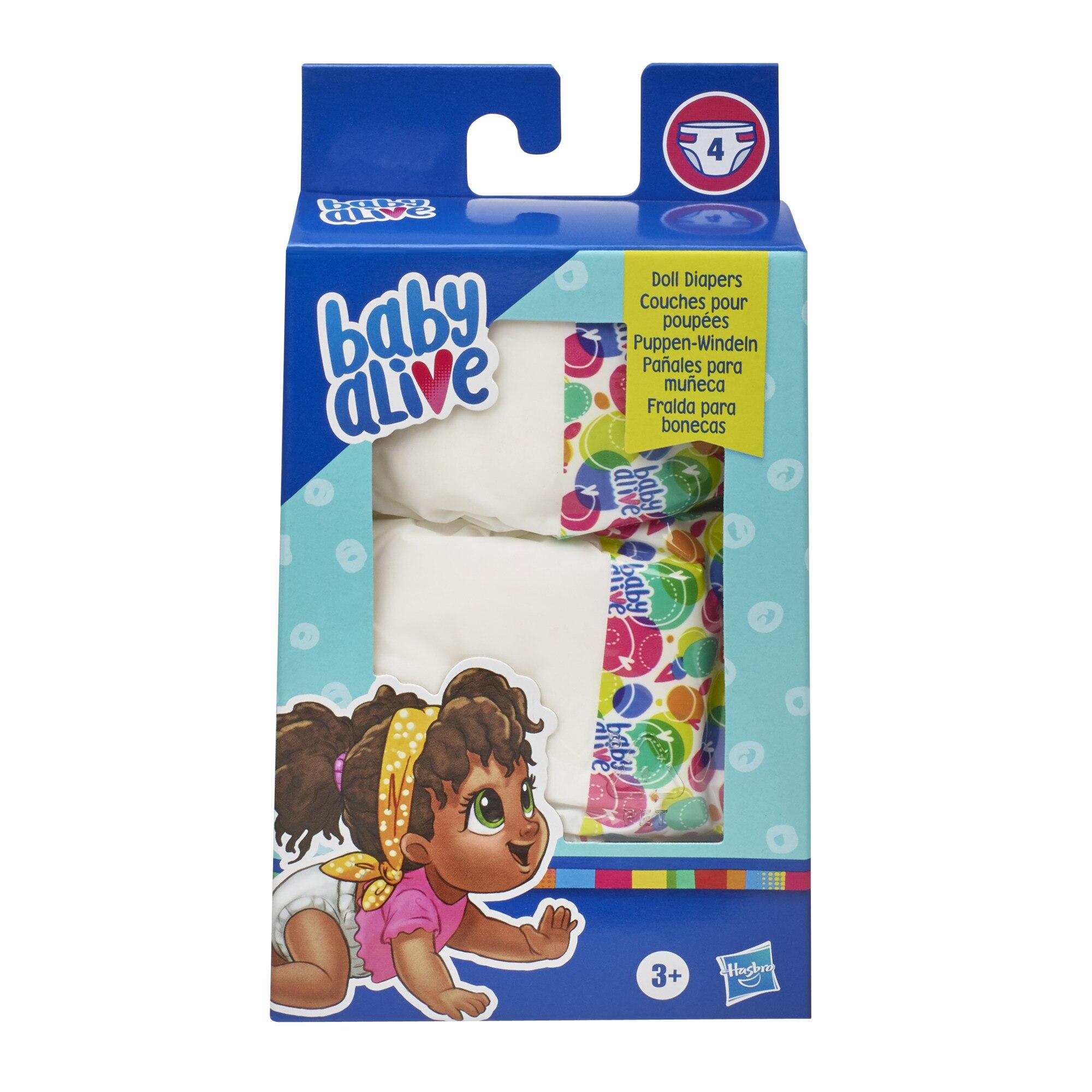 Baby Alive Diaper Refills 18 Pack