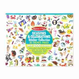 Melissa & Doug Sticker Collection Book: plus de 1 000 autocollants - Saisons et célébrations