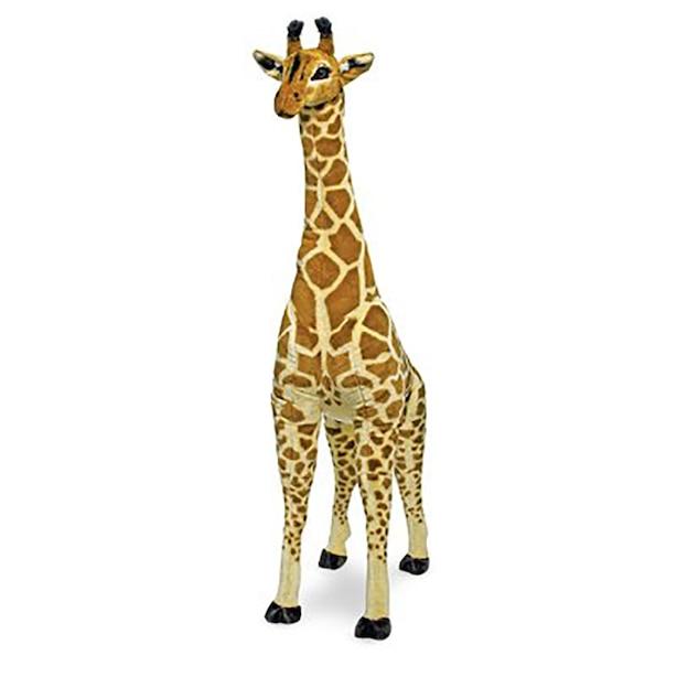 Melissa & Doug Girafe géante - Une peluche réaliste (plus de 4 pieds de hauteur)