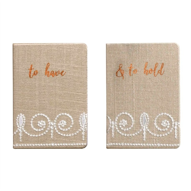 VOW MINI NOTEBOOKS French Perle