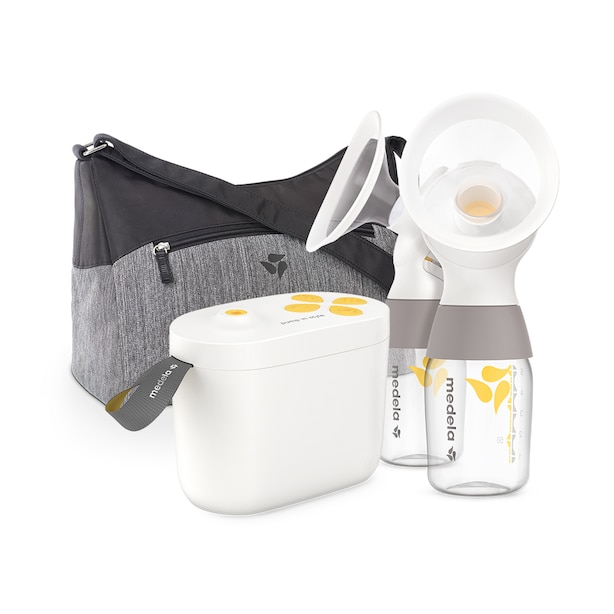 Medela Pump In Style with MaxFlow Technology, Closed System Quiet Portable Double Electric Breastpump, with PersonalFit Flex™Breast Shields
