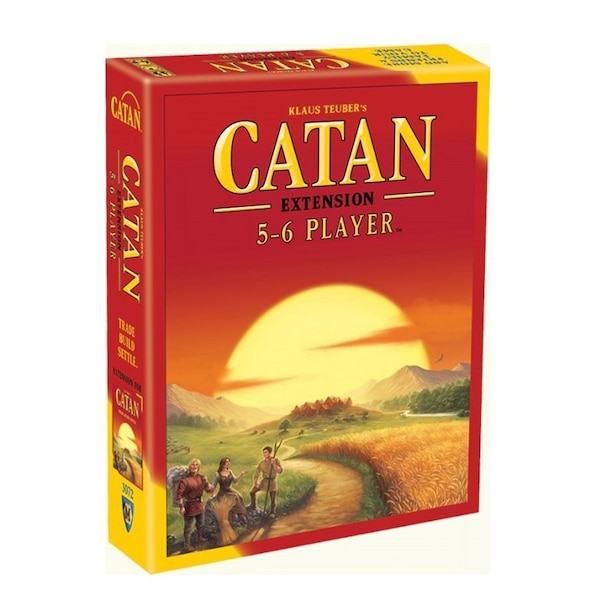 CATAN BASE GAME 5-6 PLAYER EXTENSION