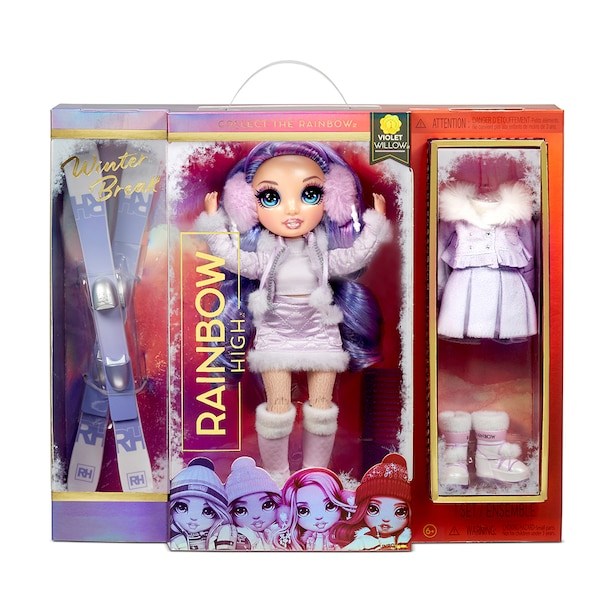 Winter Violet Willow – Purple Fashion Doll