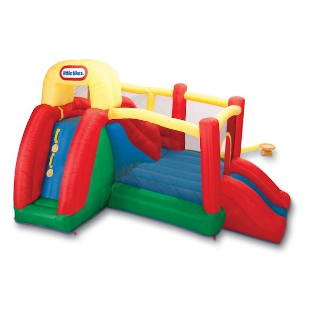 Little Tikes® Double Fun Slide 'n Bounce Bouncy House