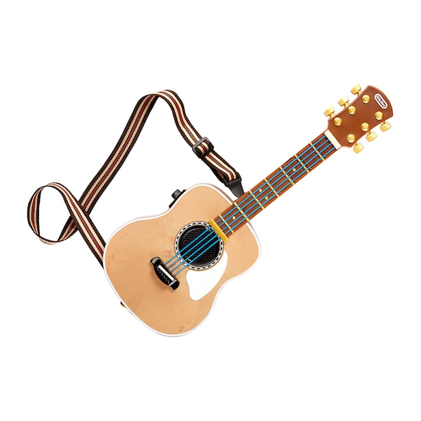 My Real Jam™ Acoustic Guitar, Toy Guitar with Case and Strap, 4 Play Modes, and Bluetooth® Connectivity - For Kids Ages 3+