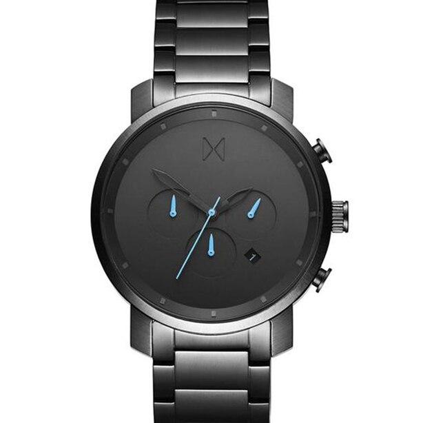 Men's Chrono Watch, Gunmetal 45mm