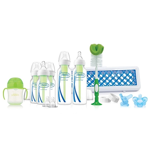Dr. Brown's® Options™ Deluxe First Years Gift Set with Bottles, Nipples, Cleaning Supplies
