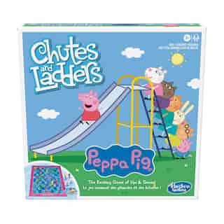 Jeu Chutes and Ladders version Peppa Pig